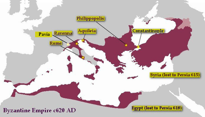 Byzantine Empire c620ad